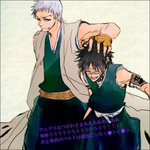 Shuuhei Hisagi and Kensei