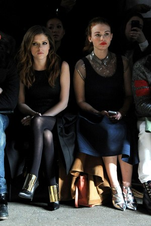 Holland attending Philosophy kwa Natalie Ratabesi - Mercedes-Benz Fashion Week Fall 2014