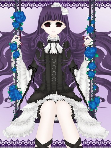 Horror Anime Manga Wallpaper Titled Sunako Kirishiki
