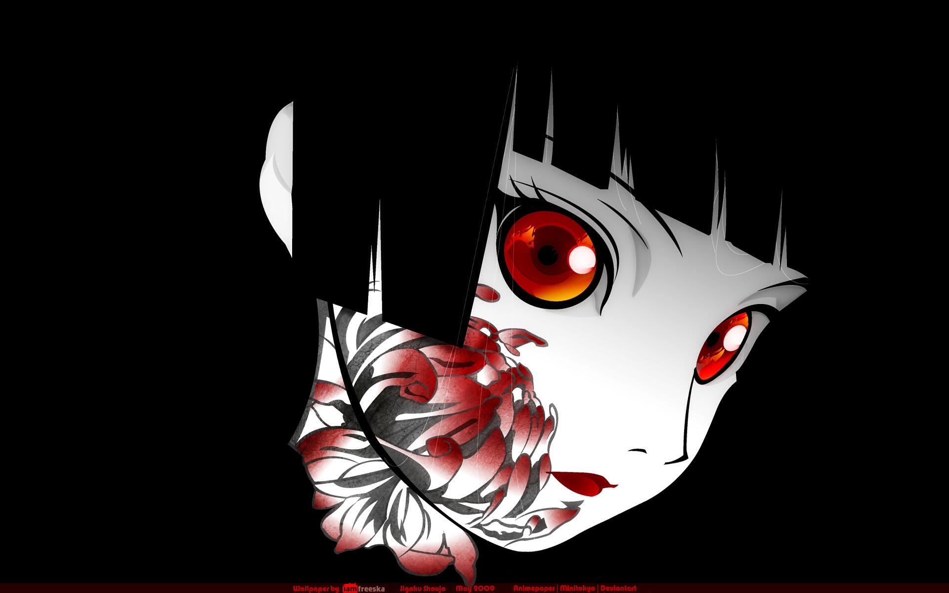 Horror Anime Manga Images Enma Ai Jigoku Shoujo Hd Fond D Ecran