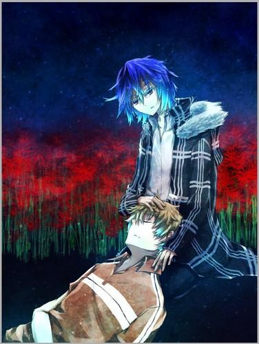 Horror Anime Manga Wallpaper Probably With A Lippizan Horse Trail And Tohru Mutou Natsuno
