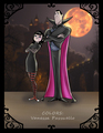 Mavis and Dracula - hotel-transylvania fan art