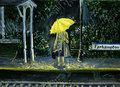Yellow Umbrella  - how-i-met-your-mother fan art