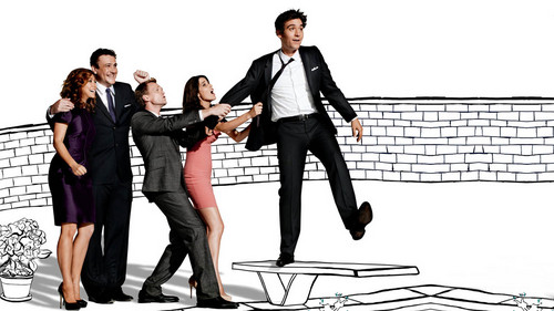 How I Met Your Mother kertas dinding containing a business suit, a well dressed person, and a suit titled HIMYM