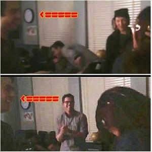 Ian in Nina's video?