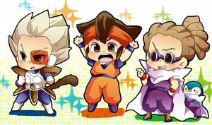 Team Inazuma Dragon Ball Z