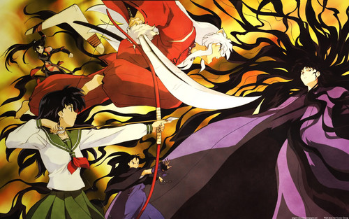Inuyasha images Inuyasha vs Naraku HD wallpaper and background ...