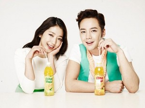 Park Shin Hye And Jang Geun Suk 'Tongyi Juice'!
