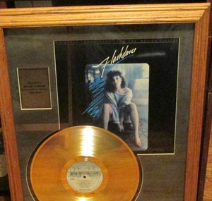"Flashdance Soundtrack emas record for ""Manhunt"""