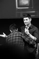 Fun at JIB Con 2013! - jensen-ackles-and-misha-collins photo