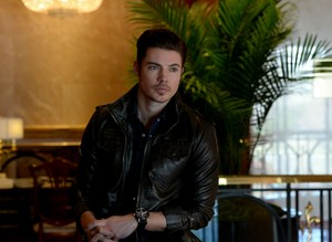 Josh Henderson at the Four Seasons Hotel Atlanta