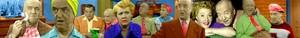 Fred Mertz Banner Coloured
