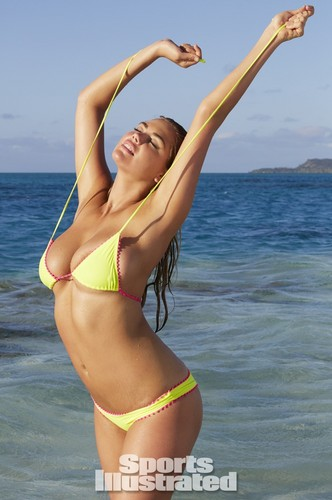Kate Upton Hintergrund containing a bikini entitled Kate Upton