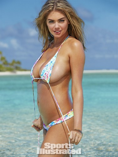 Kate Upton wolpeyper with a bikini called Kate Upton