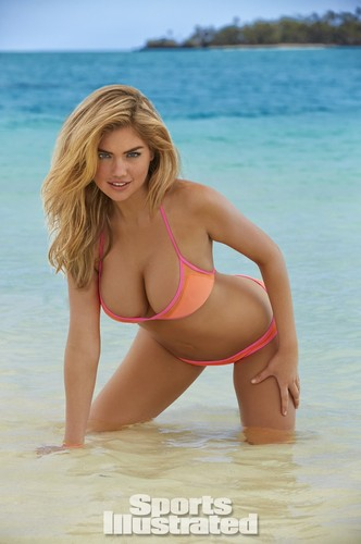 Kate Upton wolpeyper with a bikini titled Kate Upton