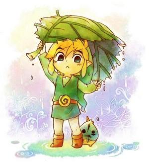 toon link cute!!! -------- >w<