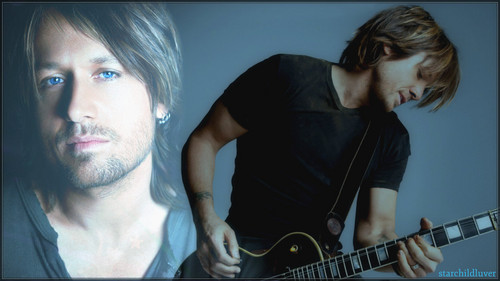 Keith Urban Hintergrund containing a guitarist entitled Keith Urban