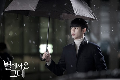 Kim SooHyun wallpaper possibly containing a parasol titled Do Min Joon/Kim Soo Hyun