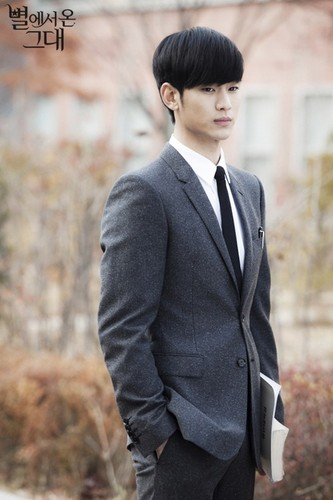 Kim SooHyun wallpaper containing a business suit entitled Kim Soo Hyun