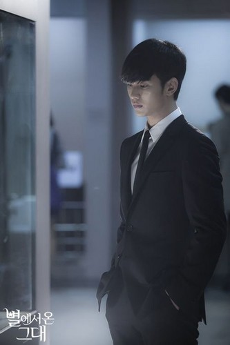 Kim SooHyun wallpaper containing a business suit, a suit, and a three piece suit entitled Kim Soo Hyun