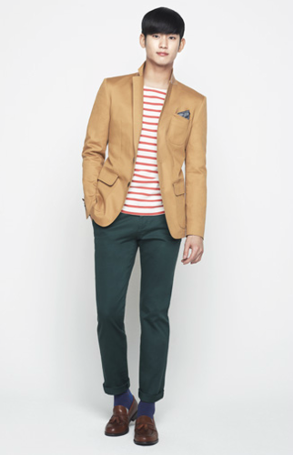 Kim SooHyun wallpaper with a well dressed person, a pantleg, and long trousers entitled Kim Soo Hyun 'ZioZia'