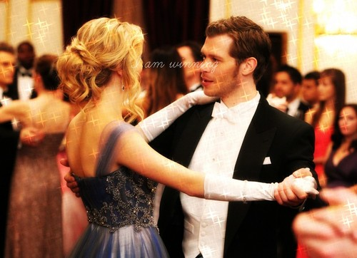 Klaus & Caroline wallpaper with a bridesmaid titled How many times do I have to tell you Even when you're crying you're beautiful too