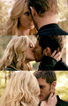 It felt really good to kiss him - klaus-and-caroline fan art