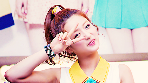 Korea Girls Group A Pink wallpaper containing a portrait called ♥ Yoon Bomi ♥