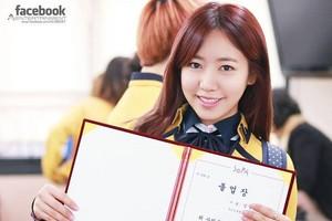Namjoo graduation