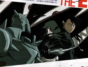 Greed / Ling and Alphonse Elric