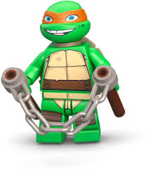 Lego Michaelangelo!