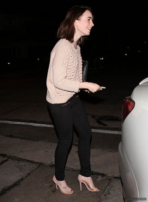 Lily out in LA - February 5th