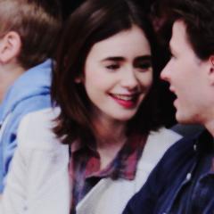 Lily with boyfriend