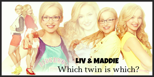 Liv and Maddie fond d'écran with a portrait entitled Liv and Maddie banner