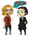 Loki fan art - loki-thor-2011 fan art