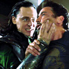 Loki Laufeyson and Tony Stark