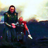 Loki and Thor on the Dark World