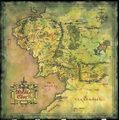 Tolkien's map - lord-of-the-rings photo