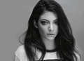 Lorde Black and White