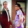 Melissa McCall and Sheriff Stilinski Icons