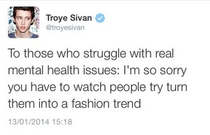 Mental Health Issues Are NOT Fashion Trends