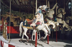 carousel at Neverland