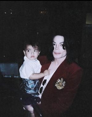 Michael & Baby Blanket:)