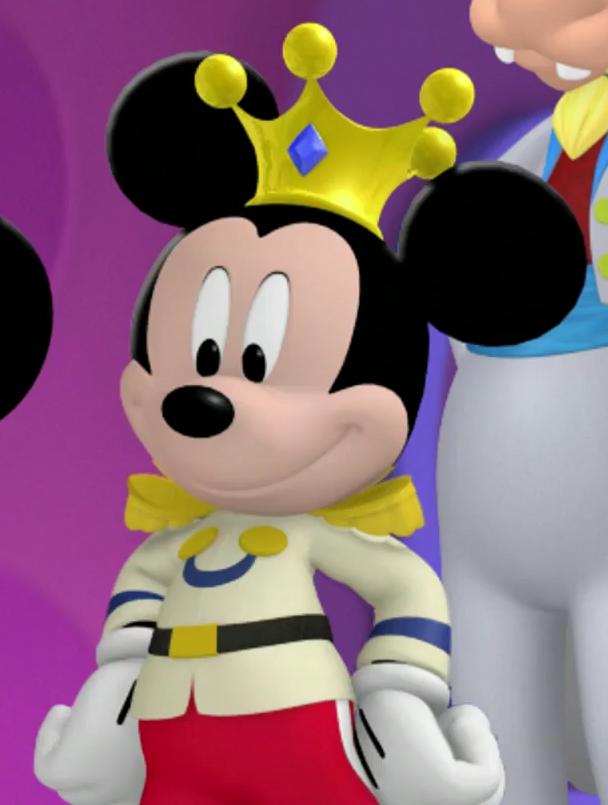 Minnie-rella (Prince Mickey)