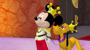 Minnie-rella (Prince Mickey and Prince Pluto)