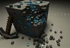《我的世界》 壁纸 titled Diamond ore yall