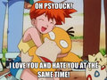 Misty tells Psyduck a little secret!