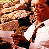 মরগান Freeman as Red - The Shawshank Redemption
