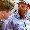 morgan Freeman as Red - The Shawshank Redemption