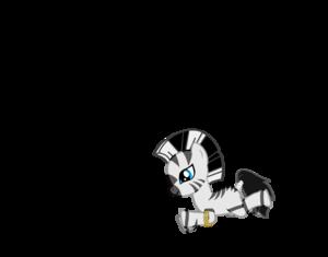 Zecora as a filly